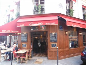 Chez Camille Cafe in Paris