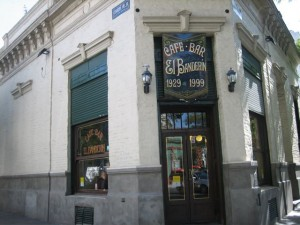 El Banderin was my Spanish teacher, Demian's fave place - but they didn't serve food to write about.
